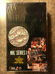 1991-1992 Pro Set Platinum unopened BOX 36 packs Series 1 factory sealed