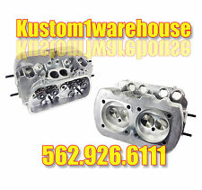 2 New 1600 Dual Port Cylinder Heads for VW Volkswagen 90.5/92 bore 40x35 Valves