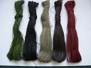 Irish Linen Sewing Thread 50mts skein - Hand Sewing - Leatherwork - Bookbinding