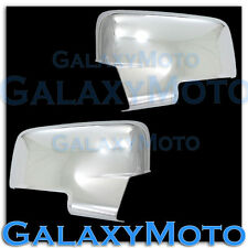 2009-2012 Dodge Ram HD w/Turn Light Chrome plated Full ABS Mirror Cover Pair Kit