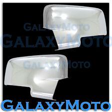 2009-2012 Dodge Ram HD w/Turn Light Chrome plated Full ABS Mirror Cover Pair Kit