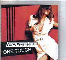Roy Gates- One touch Promo cd single