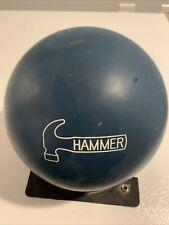 Original Fab Blue Hammer Faball Baltimore Serial Used 16lb Bowling Ball