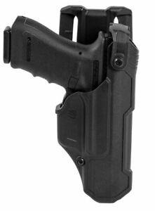 Blackhawk T-Series Holster L3D Glock (RH) 17/19/22/23/31/32/45/47 - 44N500BKR
