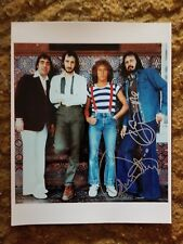 ROGER DALTREY+ JOHN ENTWISTLE SIGNED 8X10 PHOTO THE WHO #5 W/COA+PROOF RARE WOW