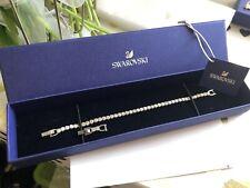 Swarovski 5409771 Tennis Deluxe Bracelet Rhodium Plated Adj. 18cm