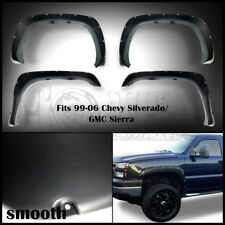 1999 - 2006 Chevy Chevrolet BoltOn Smooth Pocket Style Fender Flares 4PC Riveted