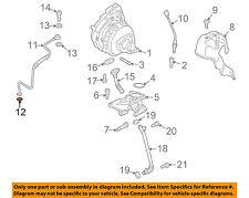 AUDI OEM 11-12 Q7 Turbocharger Turbo-Return Tube O-ring 035115427