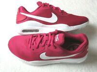 Womens Nike Air Max Oketo Running Shoes Wild Cherry Red White NIB AQ2231 600