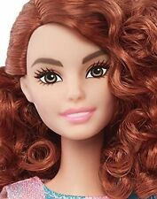 Barbie Fashionistas Nude Midge Tall Doll Curly Red Hair New