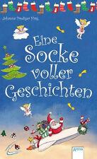 Eine Socke voller Geschichten. Buch im Nikolaussocken