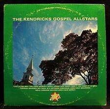 THE KENDRICKS GOSPEL ALLSTARS LP VG+ HHP 7011 Soul Parade USA Gospel Rare