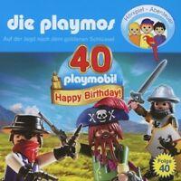 DIE PLAYMOS - FOLGE 40- DIE JAGD NACH DEM GOLDENEN SCHLÜSSEL  CD NEU