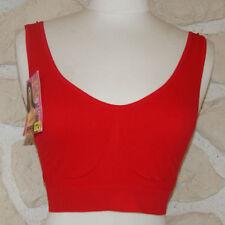 soutien gorge rouge sans armature de marque BIXTRA taille L/XL neuf
