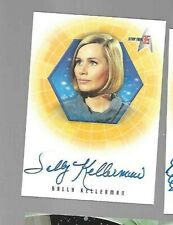 Sally Kellerman 35th anniversary Star Trek TOS A5 autograph card