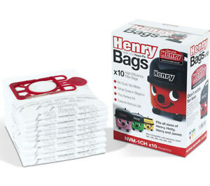 Henry Hoover Bags Hepaflo NVM-1CH 907075 Numatic Hetty James Harry