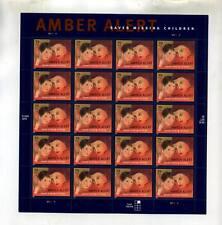 AMBER ALERT .39 STAMP SHEET SCOTT #4031 2408D