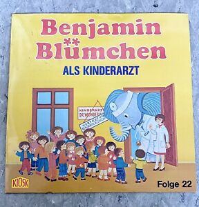 Benjamin Blümchen als Kinderarzt Folge 22 Hörspiel Schallplatte LP