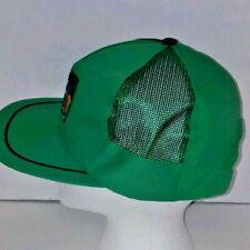 Vintage Golf Hat Trucker Style Snapback  All Mesh Green H5