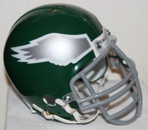 Reggie White Philadelphia Eagles Riddell Mini Helmet with Gray Metal NJOP Mask