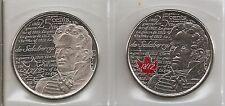 2013-WAR OF 1812 - DE SALABERRY  CANADA/CANADIAN QUARTER DOLLAR .25¢ COINS BU