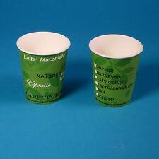 1500 Bio Coffee to go Becher Öko Kaffeebecher 8oz 0,2l 200ml kompostierbar