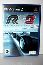 RS3 RACING SIMULATOR 3 GIOCO USATO OTTIMO SONY PS2 EDIZIONE ITALIANA GS1 32881