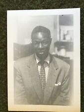 1950s Set of 3 Original SNAPSHOT Photos of NAT KING COLE African American Singer