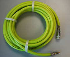 PCL 10M Reinforced High Visibilty Air Hose (8mm x 15mm) - PCL Standard Fittings