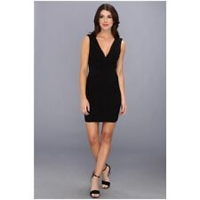 $298‼️NEW BCBG BANDAGE BODYCON BLACK DRESS LBD SEXY COCKTAIL CLUBBING PARTY S