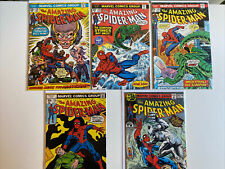 Old Vintage Amazing Spider-Man 5 Comic Book Lot. Get All Books In Pictures!