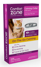 Comfort Zone Calming Collar For Cats 2 Pack for Urine Marking and Scratching 325