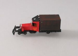 Customized Bachmann Spectrum 29163 On30 Little River Logging Rail Truck with DCC