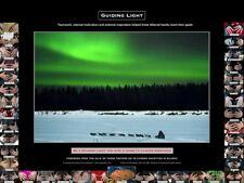 Iditarod Aurora Cancer Poster: Proceeds go to national cancer charities