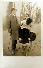 Portrat una famiglia di 1910-20 - bromo-Argento cartolina detrazione 13,7x8,8 cm