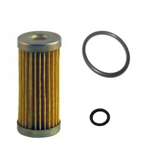 Fuel Filter with O-Ring Fits Ford Fits New Holland 1000 1300 1500 1600 1700