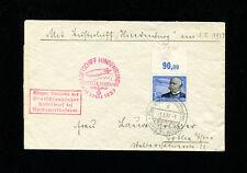 Zeppelin Sieger 453B 1937 Germany Flight Germany Post Hi-Value Franking