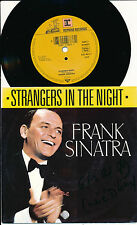 """FRANK SINATRA 45 TOURS 7"""" GERMANY STRANGERS IN THE NIGH"""