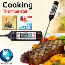 Digital Cooking Food Thermometer Instant Read with Long Probe & LCD Screen