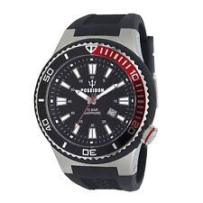 POSEIDON Armbanduhr XL, Analog, Quarz, Silikon, 15Bar, Saphirglas UP00601
