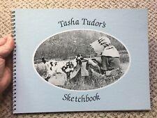 TASHA TUDORS SKETCHBOOK SKETCH BOOK ~ 1989 1ST FIRST PRINTING ~ PAPERBACK