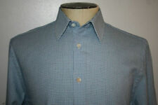 Jaeger Cotton Check Button Cuff Formal Shirts for Men