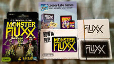 Monster Fluxx * Looney Lab Games * 8+, 2-6 players, 5-20 min Mint in Box- Sealed