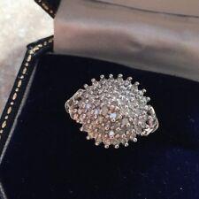 9CT White Gold Diamond Engagement/Dress Ring Hm 375 Size P, 3.0g  Dia 0.50CT