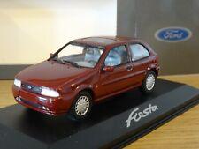 MINICHAMPS FORD FIESTA MK4 DARK RED 1995 3 DOOR CAR MODEL 433 085003 1:43