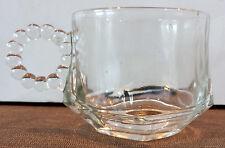 Vintage Orchard Crystal by Hazel Atlas Coffee/Tea Cup Bloopie EUC! (2 available)
