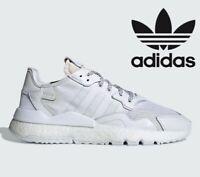 🔥2019 Adidas Originals NITE JOGGER ® ( Men Size UK 6 - 12 ) Cloud Crystal White