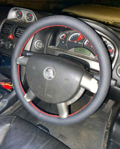 Holden VY VZ Commodore All Models - Bicast Leather Steering Wheel Cover