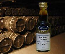 DISTILLERS CARAMEL FOR COLOR TINTING SCOTCH WHISKEY STILL SPIRITS TOP SHELF 50ml