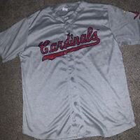 1956 THROWBACK JERSEY Cardinals Gray ADULT XL 2016 Promo SGA NWOT NEVER WORN
